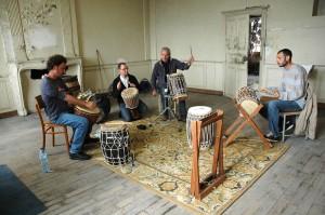 """Atelier Percussions du RERS - """"Salade de rythmes"""" avec Alain - Corbigny"""