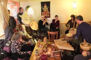 """Rencontre de la Coop  - """"Orchestre cucurbital Polissons"""" - février 2014 - Cervon"""