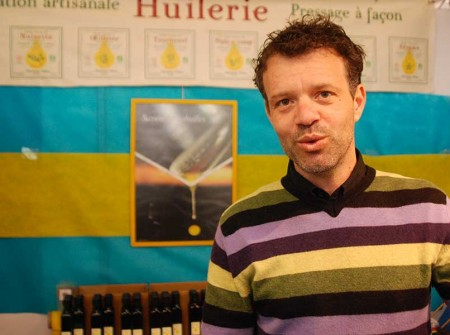 Nicolas Nansot aux Journées Gourmandes de Saulieu.